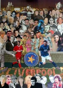 Peter Blake's Liverpool collage: