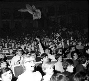 На концерте Stones в Варшаве, 1967 год