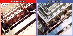 The Beatles / 1962-1970 (рекомендую ставить по центру с белым фоном)