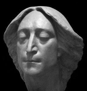 Портрет Джона Леннона,находится в домашнем музее Битлз ,у известного питерского битломана Юрия Трифонова,в  Санкт-Петербурге.Создан в 1987 году,высота примерно 2 метра(гипс). Наверное первое скульптурное изображение Джона в России.