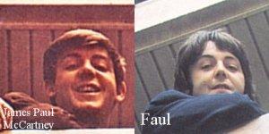 ок)) ну вот вам Пол с разницей в 5-6 лет, кусок Please Please Me и не вышедший Get Back... ps по мне так пластика ещё тогда была, НО какая? Чтобы сделать похожим Пола на Билли или Билли на Пола? ;)