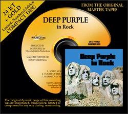 в июле выходят на золоте Deep Purple in Rock и THE DOORS