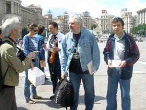 Вернёмся к встрече на Майдане.