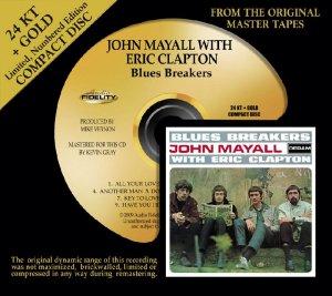 John Mayall's Blues Breakers featuring Eric Clapton Blues Breakers on 24K CD: