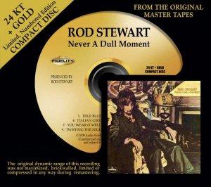 Rod Stewart Never a Dull Moment on 24K CD: