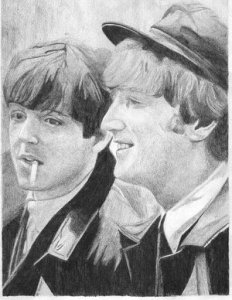 Джон и Пол))))) Моя любимая)))