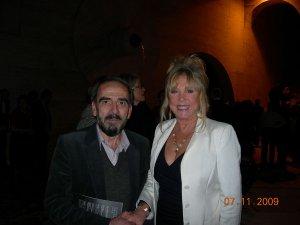 Pattie Boyd in Yerevan (Gafesjian Art Center)