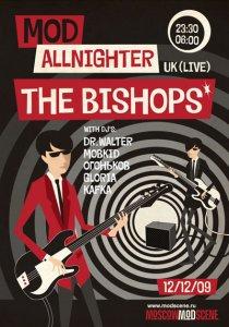 12.12.2009 - Интернациональный Mod Allnighter в клубе «16 Тонн»: The Bishops (UK) & DJs