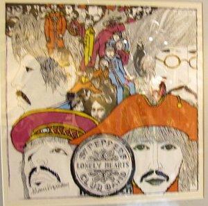 фотки я там уже добавила - они есть.) Вот только еще обложка Revolver - один из эскизов Клауса в музее