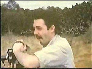 Кэмпбелл на видео Мэла Эванса, 1966