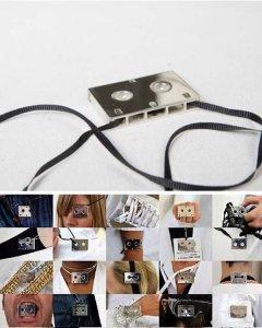 Превращение обычной аудиокассеты в своего рода арт-объект явилось результатом творческого сотрудничества Стайпа-дизайнера с модным домом Мартина Марджелы - бельгийского дизайнера, по праву считающегося одним из отцов-основателей современной концептуальной моды.