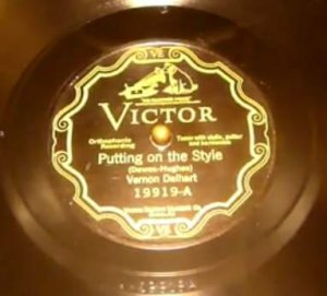 Vernon Dalhart - Puttin' On The Style