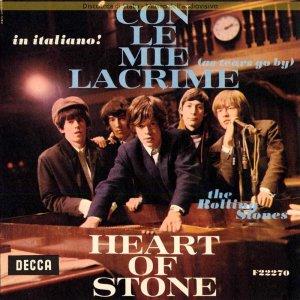 Заглянем в календарь Стоунз.15 марта 1966 в лондонской  IBC Studios, Portland Place проходит запись вещи Con Le Mie Lacrime - итальянского клона знаменитой баллады Стоунз  As Tears Go By.