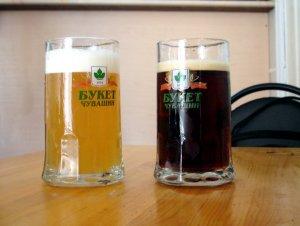 Когда Чувашское пивко попивали.