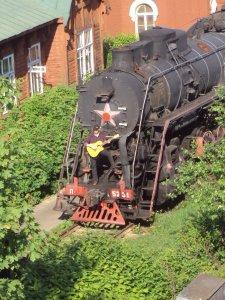Сегодня ,случайно на станции Красный Балтиец:(фото)вот с такими еще споем...:)