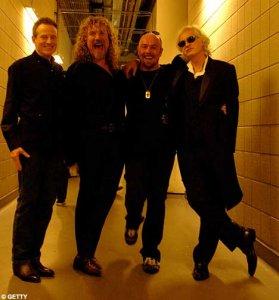 Всё это не то; у многих ещё теплится надежда на воссоединение Led Zeppelin!