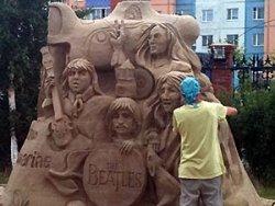 Неделя песчаной скульптуры и архитектуры малых форм - 2010