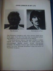 Пит Шоттон: книга Джон Леннон в моей жизни