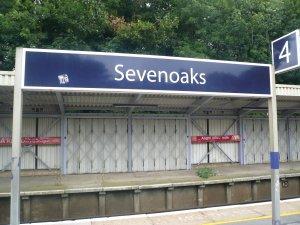 Еду в Sevenoaks.... 30 км юго-восточнее Лондона..