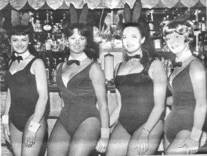... в Саутпортском Kingsway Club в шестидесятые было неплохо.  Kingsway Bunny Girls