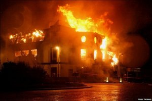 6 сентября 2010. Вечер. Kingsway Club объят огнём... (((