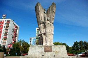 Pomnik Hendrixa w Dąbrowie Górniczej