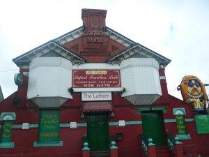... и в Lathom Hall они начали выступать только в 1961.