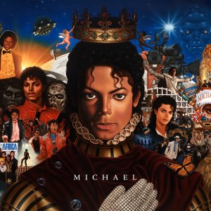 The much anticipated album of newly completed recordings from Michael Jackson.  Includes the songs he most recently created along with tracks that Michael had a desire to bring to fruition.  The album cover of MICHAEL was created by painter Kadir Nelson; the oil painting, created in 2009, takes us on a journey through some key moments and important people in Michael Jackson's life.