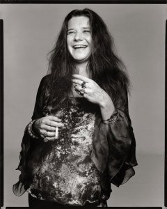 Janis Joplin, singer, Port Arthur, Texas, August 28. 1969