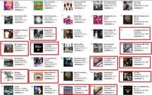 @BeatlesTweets: All 17 Beatles albums are in the top 100 in iTunes. First time so many in the top 100 since 1967