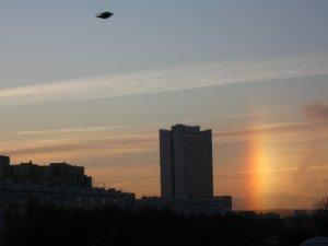 Такая вот сегодня утром была радуга...)))