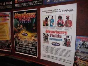 Шоу Strawberry Fields в клубе B.B. King на 42-й Стрит. Надо сказать-очень похоже.