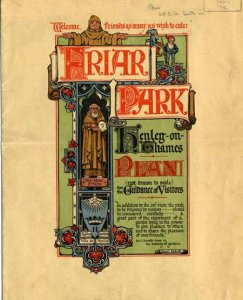 Про Friar Park писал уже: