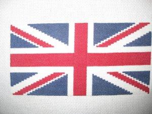 Английский флаг вышивка 55
