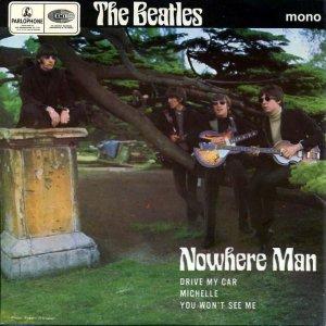 Я уже писал о том, что Ринго таинственно умер в 1963 году, - а иначе с чего бы его лицо на обложке With The Beatles было ниже лиц остальных? Но тут я присмотрелся с обложке EP Nowhere Man и меня осенило: мы можем даже восстановить всю картину трагедии!