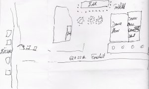 Этот план Индры 1960 года нарисован Хорстом Фашером лично 21 февраля 2011 года.