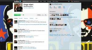 хаха)) хорошо я сделала скрин его старого твитта.;-) прежний аккаунт у Рингуши был красивый.