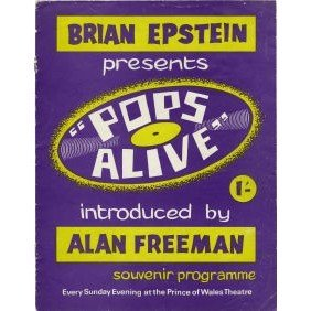 May 31, 1964: The Beatles do two shows for Brian Epstein's Pops Alive show at the Prince of Wales Theatre in London. Also on the bill: Cliff Bennett & the Rebel Rousers, the Vernons Girls, the Lorne Gibson Trio, the Chants, the Harlems and Kenny Lynch. Songs: Can't Buy Me Love, Till There Was You, All My Loving, Roll Over Beethoven, This Boy, Twist and Shout and Long Tall Sally.