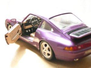 Porsche 911 цвет Deep Purple