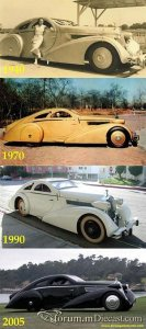 Rolls Royce Phantom I Jonckheere Coupe Aerodynamic Coupe 1925