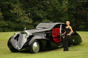 Не каждый автомобиль может похвастаться столь богатой историей и столь сложным именем, как Rolls-Royce Phantom I Jonckheere Aerodynamic Coupe. Трудно запомнить название, но легко узнать сам автомобиль.