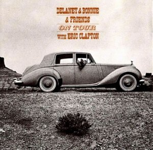 1970--UK LP release: Delaney And Bonnie On Tour. George Harrison played with the band on some of the album's recordings.http://www.youtube.com/watch?v=bQoJ971nP7s&feature=related