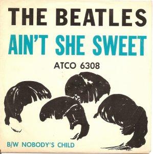 Американская фирма ATCO выпустила сегодня(в 1964-м) сингл The Beatles & Tony Sheridan Ain't She Sweet/Nobody's Child,который продержался в американском хит-параде 9 недель и достиг 19-й позиции.