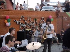 Есть такая партия - партия саксофона!