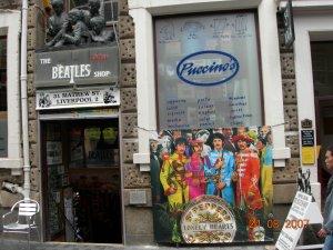 Небольшая фотопрогулка по Ливерпулю во время Beatles Week: