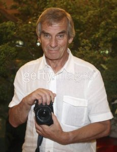 TOKYO - JULY 1: Photographer Robert Whitaker poses during the events to mark the 40th anniversary of the Beatles' 1966 visit to Tokyo at the Capitol Tokyu Hotel on July 1, 2006 in Tokyo, Japan. Whitaker was the official photographer for the band's visit to Japan.