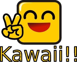 А кавайный означает по японски -  прелестный, любимый, обожаемый.Термины эти (кавай и ня) глубоко анимэшные.