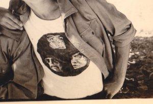 Из тех групп, кого слушаю с 1972 года и по нынешнюю пору. Правда, альбомы до All the girls... Невозможно перечислить любимые песни, но одни из самых - CREEPIN`, SHININ` ON, LONELIEST RIDER etc. А это печать на майке, selfhandmade))), 1973 год на дворе.
