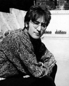 John Lennon with us.
