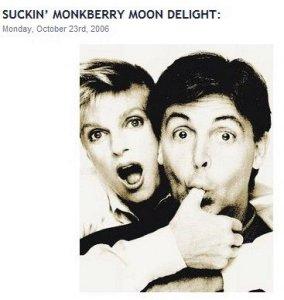 """В семидесятые годы песня """"Monkberry Moon Delight"""", нелегально выпущенная на пластинке..........."""